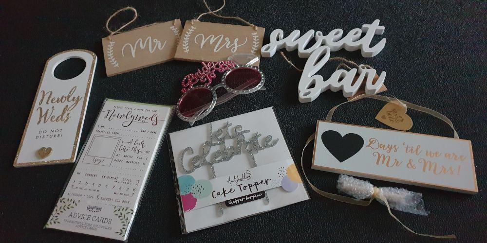 blushing bride box items I won't need