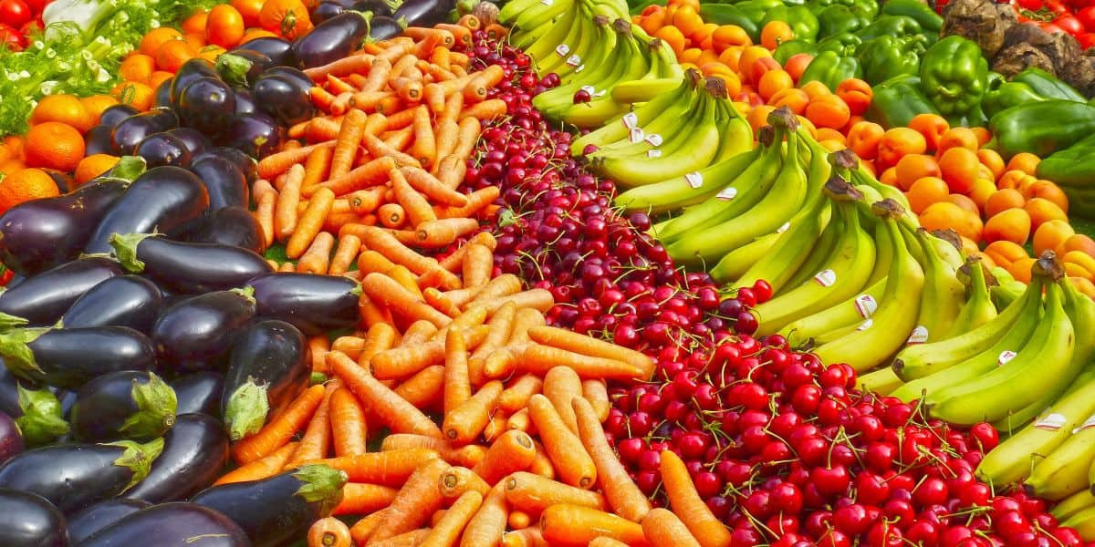 How colourful is your food
