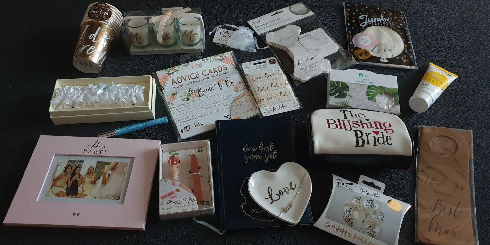 blushing bride box items I really like