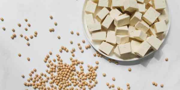 tofu and soya beans