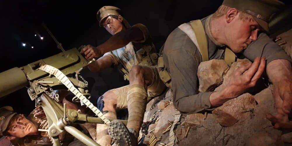Te Papa Tongarewa, the scale of war