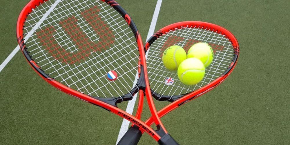 tennis rackets  france vs england