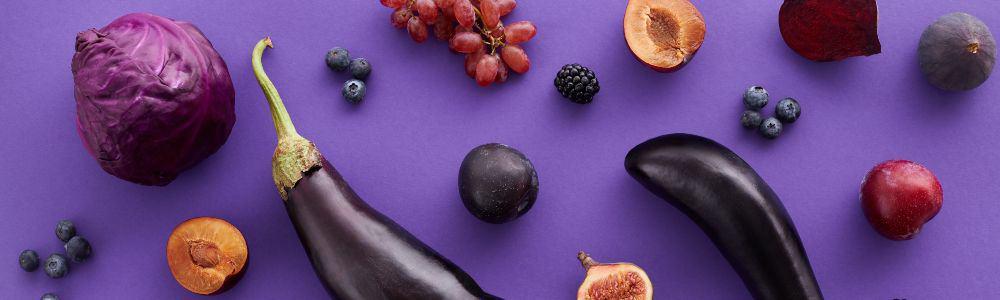 Blue / Purple Food