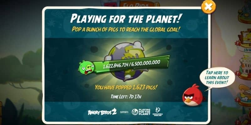 angry birds for the planet