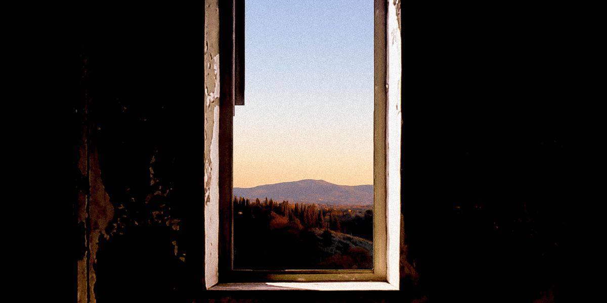 Window to landscape