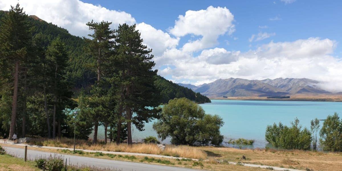 New Zealand Lake Tekapo