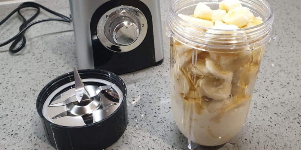 bananas in the blender