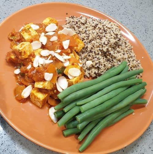 tofu apricot harissa